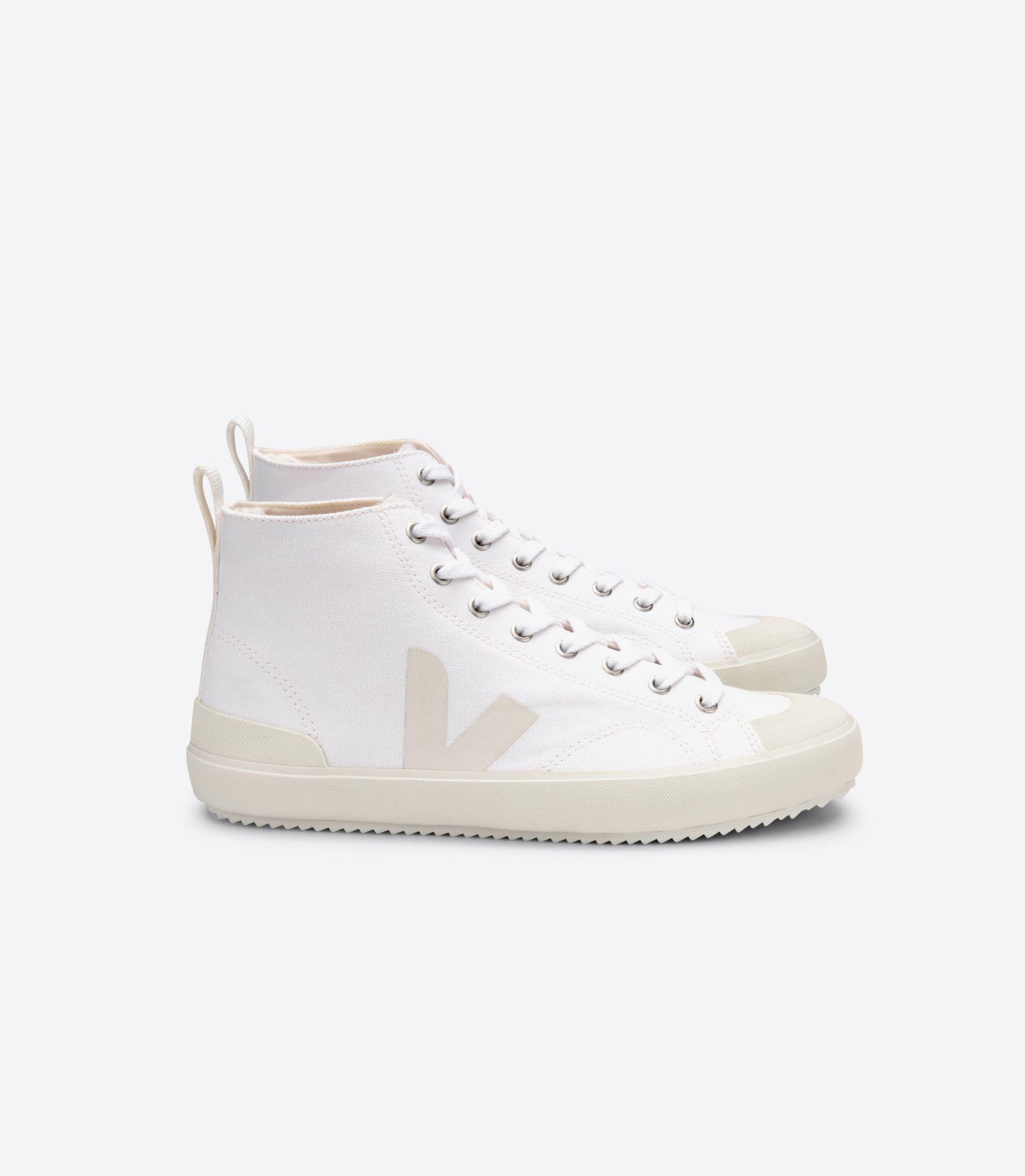 Veja Nova High Top Vegan Sneakers in White
