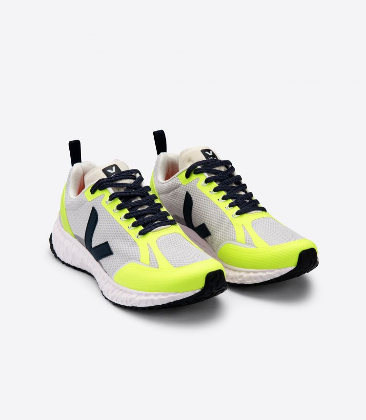 CONDOR MESH LIGHT GREY JAUNE FLUO