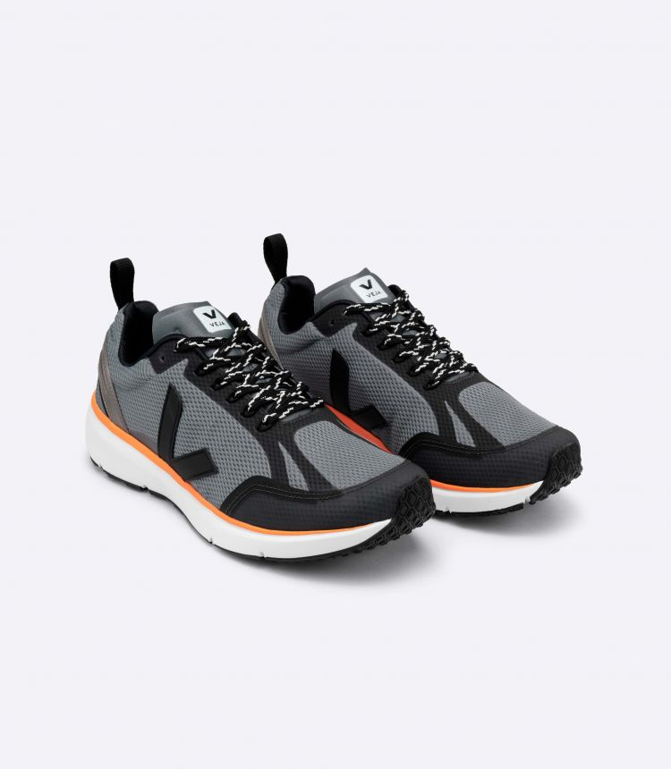 CONDOR 2 ALVEOMESH CONCRETE BLACK NEON-ORANGE