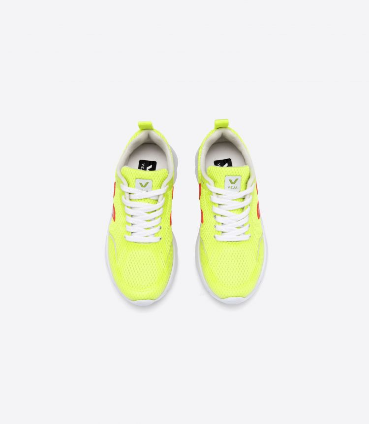 CANARY JAUNE FLUO ORANGE FLUO WHITE