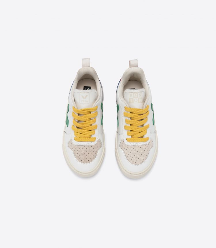V-10 VEJA X BONTON WHITE EMERAUDE GOLD YELLOW