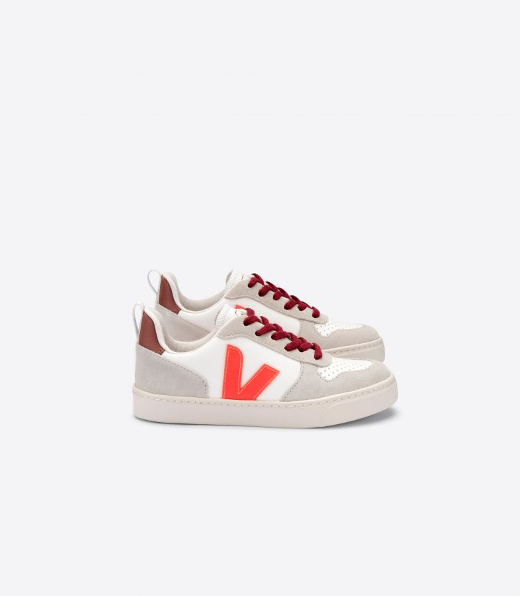V-10 VEJA X BONTON WHITE ORANGE FLUO DRIED PETAL
