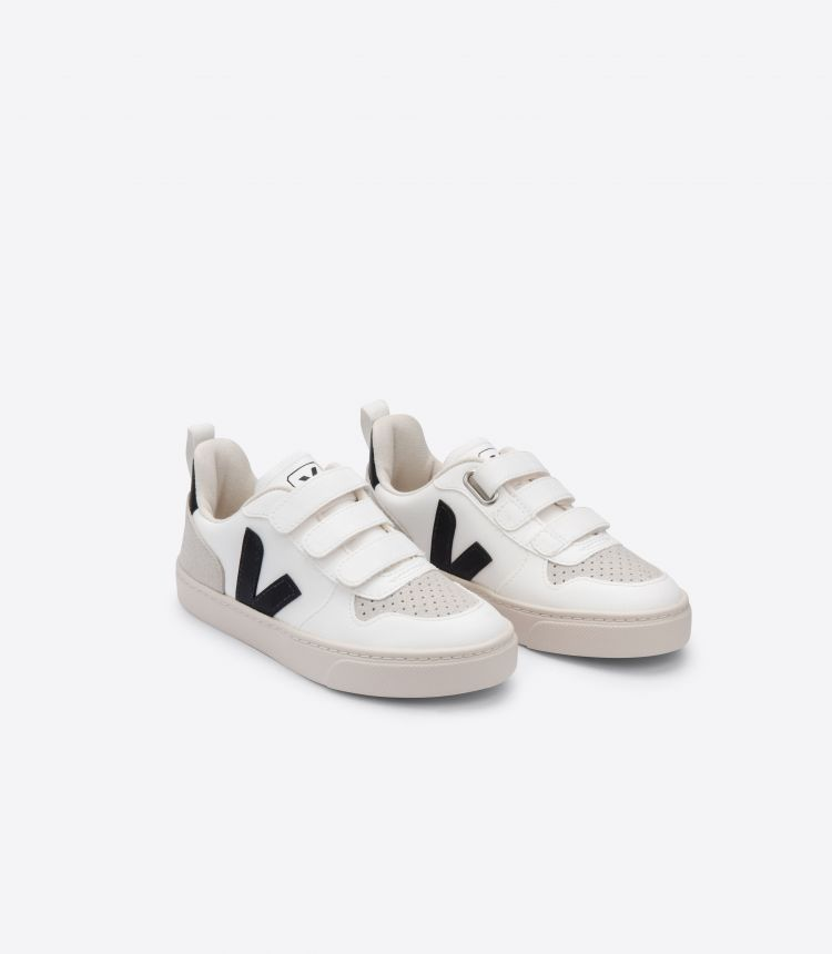 V-10 VELCRO CWL WHITE BLACK