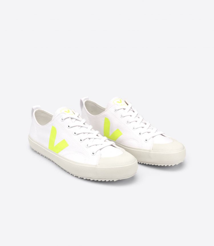 NOVA CANVAS WHITE JAUNE-FLUO