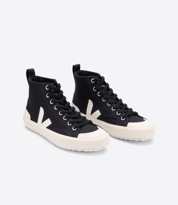 NOVA HIGH TOP CANVAS BLACK PIERRE