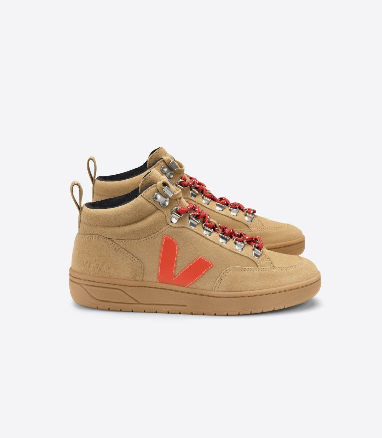RORAIMA SUEDE DESERT ORANGE GUM SOLE