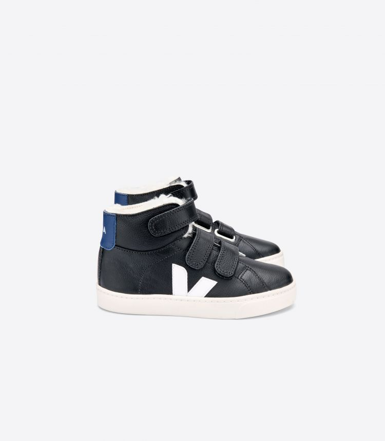 ESPLAR MID LEATHER BLACK WHITE COBALT