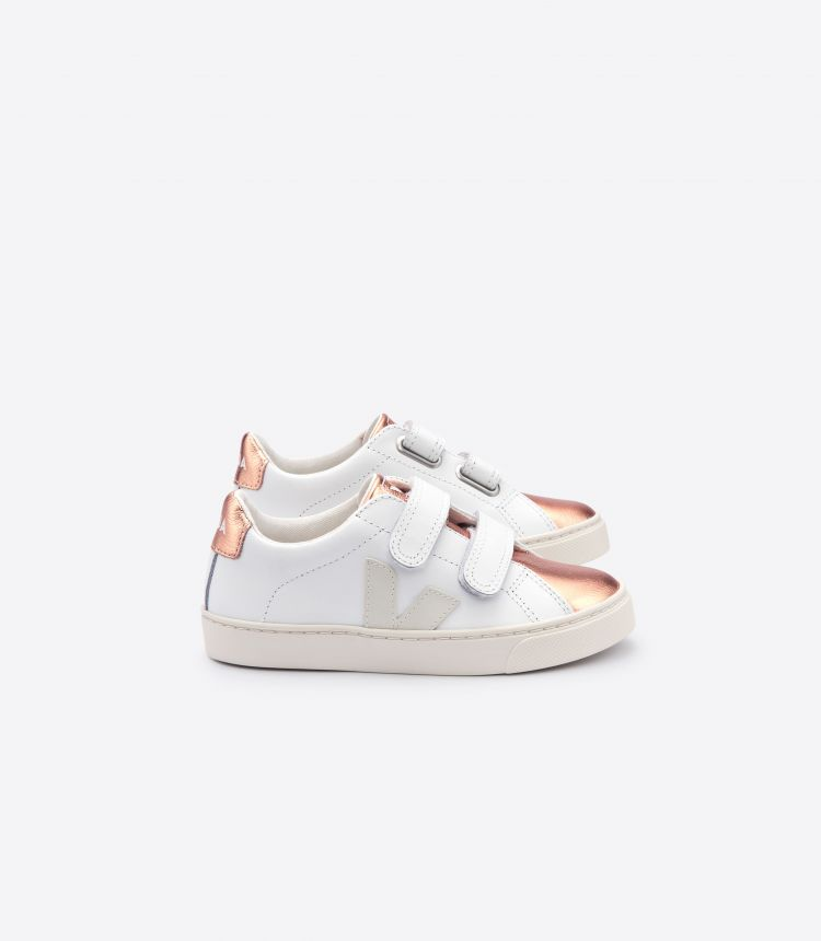 ESPLAR VELCRO LEATHER WHITE VENUS