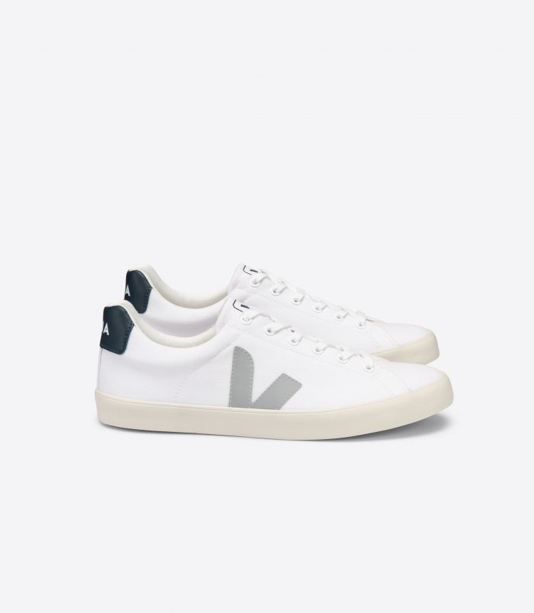 ESPLAR SE CANVAS WHITE OXFORD-GREY NAUTICO