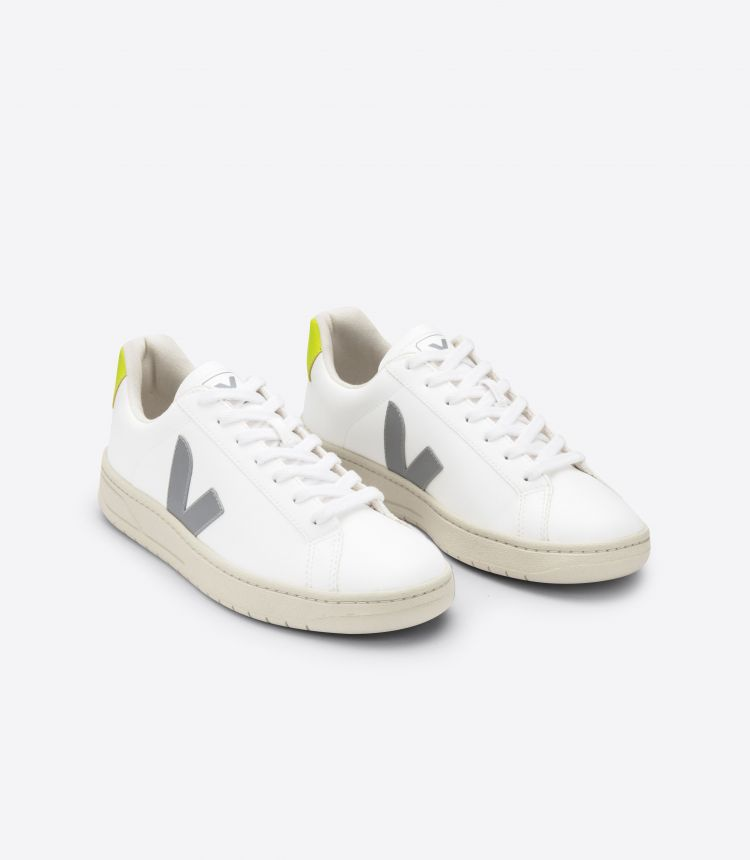 URCA WHITE OXFORD GREY JAUNE FLUO
