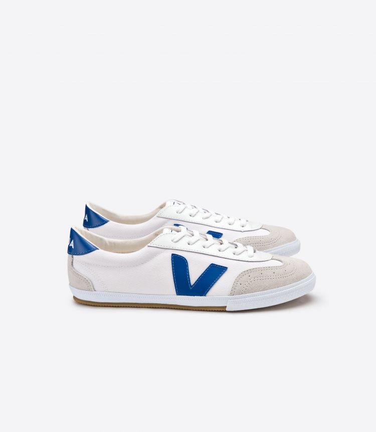 VOLLEY CANVAS WHITE INDIGO