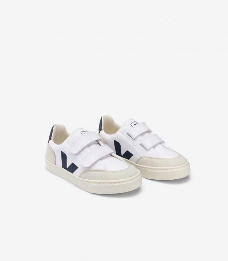 V-12 VELCRO CANVAS WHITE NAUTICO NATURAL