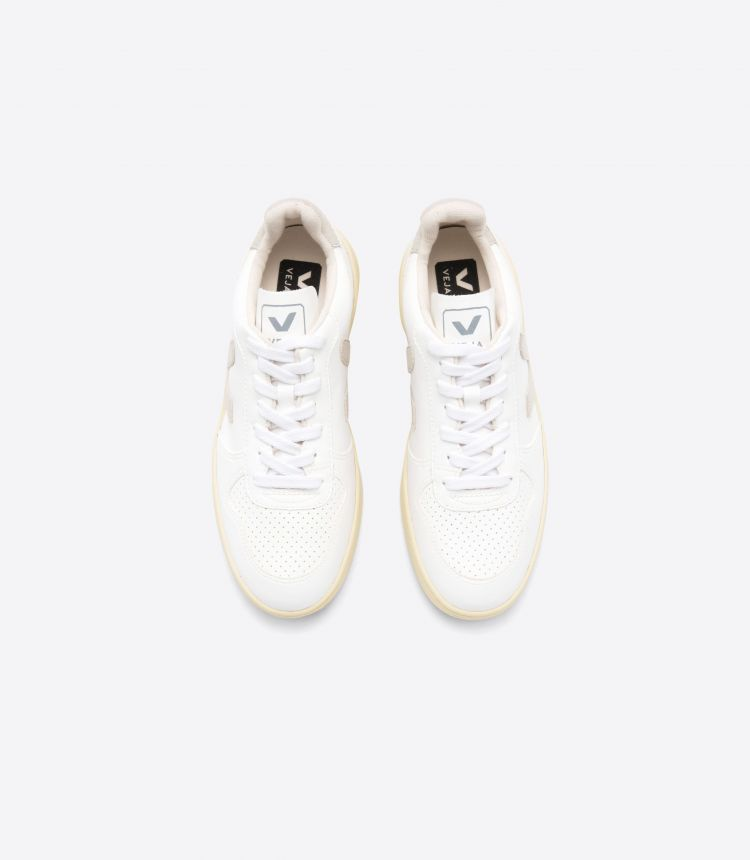 V-10 CWL WHITE NATURAL BUTTER SOLE