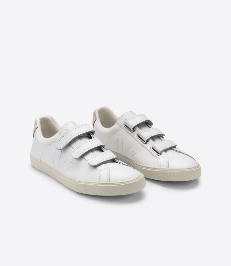 ESPLAR LEATHER 3-LOCK WHITE