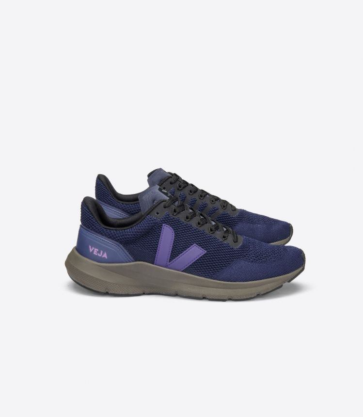 MARLIN V-KNIT NIL PURPLE KAKI-SOLE
