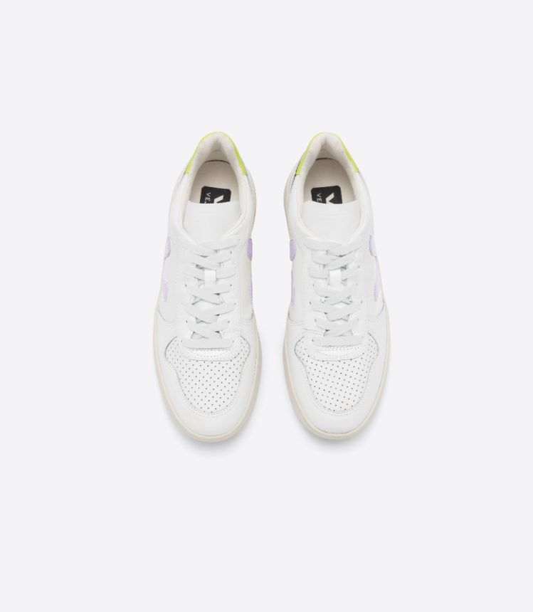 VEJA X MADEWELL WHITE PARME JAUNE FLUO