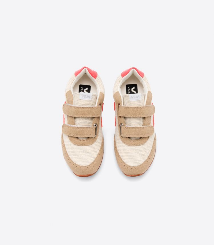 ARCADE J-MESH NATURAL ROSE FLUO BUTTER SOLE JUNIOR