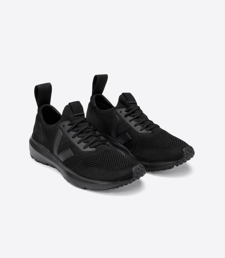 RUNNER STYLE 2 V-KNIT VEJA X RICK OWENS FULL-BLACK