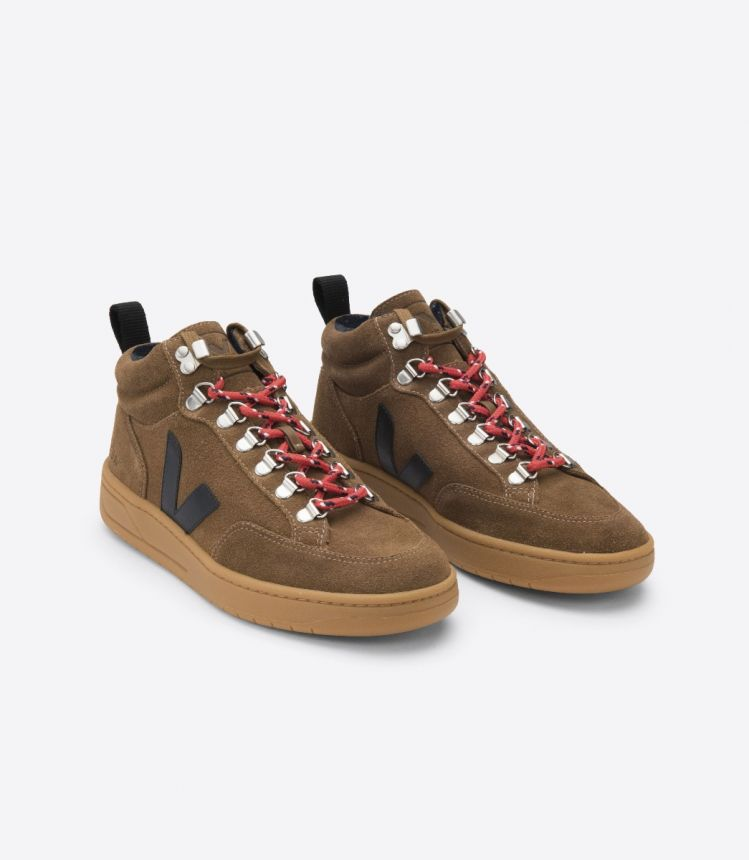 RORAIMA SUEDE BROWN BLACK NATURAL-SOLE