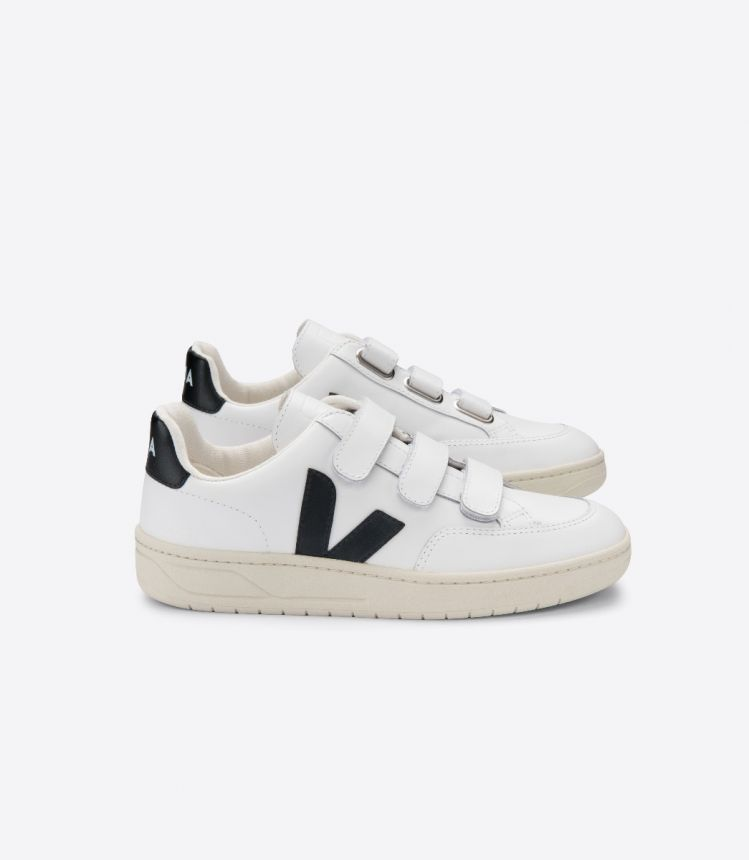 V-LOCK LEATHER EXTRA WHITE BLACK